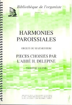 Harmonies Paroissiales Volume 3 Partition Orgue - laflutedepan