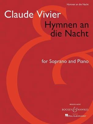 Hymnen An Die Nacht Claude Vivier Partition Mélodies - laflutedepan