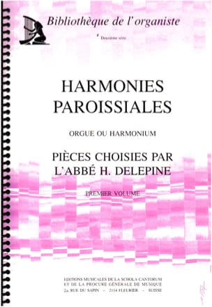 Harmonies Paroissiales Volume 1 Partition Orgue - laflutedepan