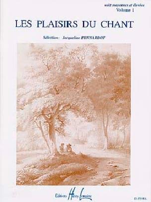 Les Plaisirs du Chant Volume 1 Voix Moyenne-Haute - laflutedepan.com