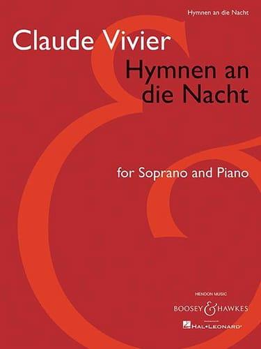 Hymnen An Die Nacht - Claude Vivier - Partition - laflutedepan.com