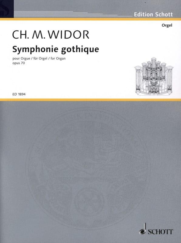 Symphonie Gothique Opus 70 - WIDOR - Partition - laflutedepan.com