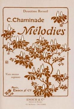 Mélodies Volume 2. Voix Moyenne Cécile Chaminade laflutedepan