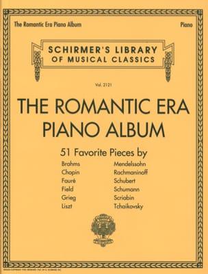 The romantic era piano album Partition Piano - laflutedepan
