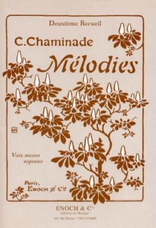 Mélodies Volume 2. Voix Moyenne - Cécile Chaminade - laflutedepan.com