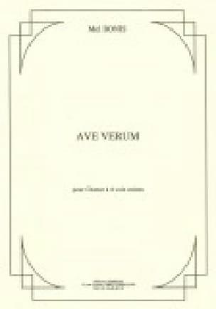 Ave Verum - Mel Bonis - Partition - Chœur - laflutedepan.com