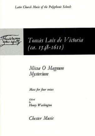 Missa O Magnum Mystérium Tomas Luis de Victoria Partition laflutedepan