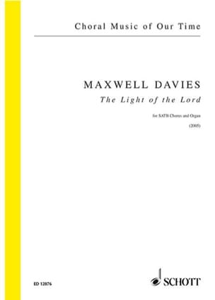 The Light Of Lord Davies Peter (Sir) Maxwell Partition laflutedepan