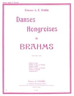 BRAHMS - Hungarian Dances Volume 1. 4 Hands - Partition - di-arezzo.co.uk