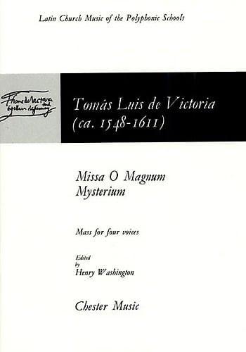 Missa O Magnum Mystérium - Tomas Luis de Victoria - laflutedepan.com