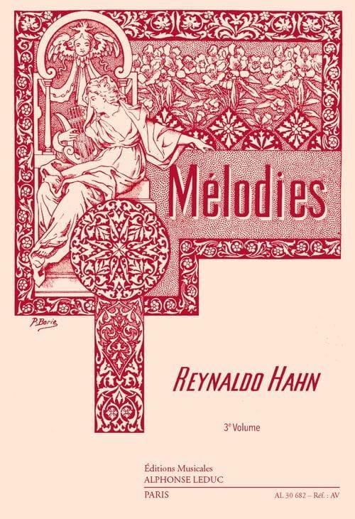 Mélodies Volume 3 - Reynaldo Hahn - Partition - laflutedepan.com