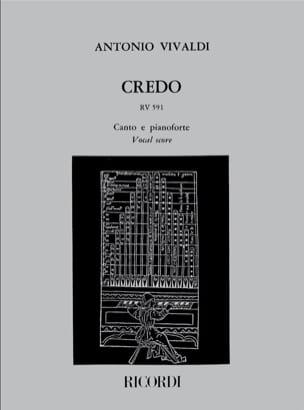 VIVALDI - Creed. RV 591 - Partition - di-arezzo.it