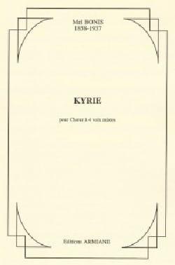 Kyrie Mel Bonis Partition Chœur - laflutedepan
