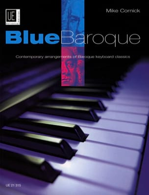 Blue Baroque Mike Cornick Partition Piano - laflutedepan