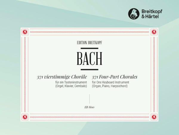 371 Chorals - BACH - Partition - Piano - laflutedepan.com