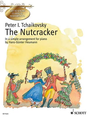 The Nutcracker Opus 71 - TCHAIKOVSKY - Partition - laflutedepan.com