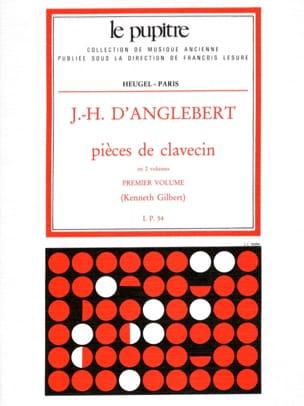 Pièces de Clavecin Volume 1 Jean-Henry d' Anglebert laflutedepan