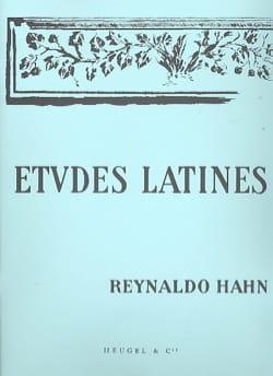 Etudes Latines Reynaldo Hahn Partition Mélodies - laflutedepan