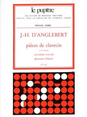 Pièces de Clavecin Volume 2 Jean-Henry d' Anglebert laflutedepan