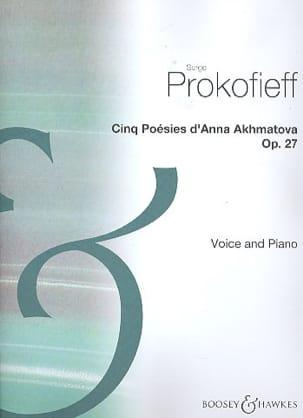 Poesies D'Anna Akhmotava Op. 27 - PROKOFIEV - laflutedepan.com