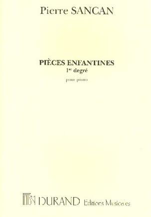 Pièces Enfantines 1er Degré Pierre Sancan Partition laflutedepan