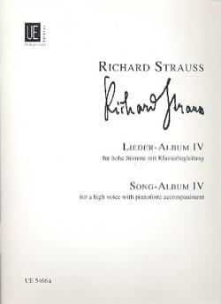 Lieder Album Volume 4. Voix Haute Richard Strauss laflutedepan