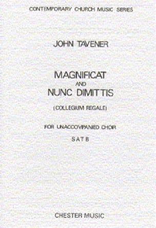 Magnificat Und Nunc Dimitis John Tavener Partition laflutedepan