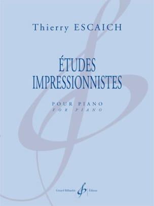 Etudes impressionnistes Thierry Escaich Partition Piano - laflutedepan