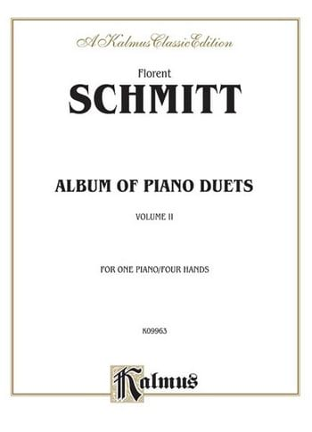 Album Of Piano Duets. Volume 2 - Florent Schmitt - laflutedepan.com