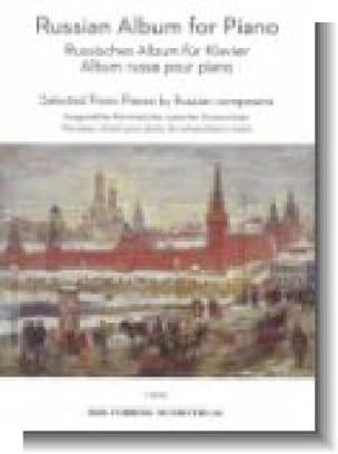 Russian album for piano - Partition - Piano - laflutedepan.com
