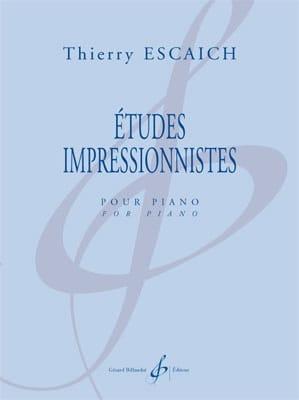Etudes impressionnistes - Thierry Escaich - laflutedepan.com
