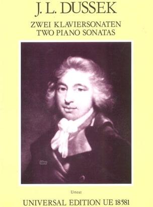2 Klaviersonaten Jan Ladislav Dussek Partition Piano - laflutedepan
