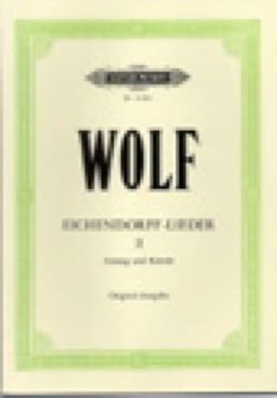 Eichendorff-Lieder Volume 2 - Hugo Wolf - Partition - laflutedepan.com