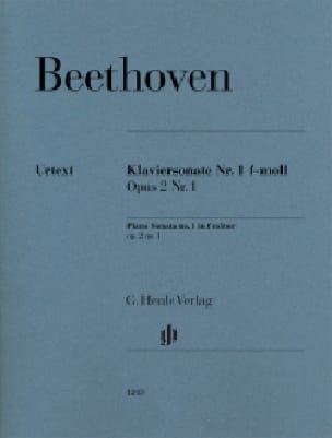 Sonate pour piano n° 1 en fa mineur Opus 2-1 - laflutedepan.com