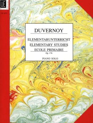 Jean-Baptiste Duvernoy - Estudios elementales Opus 176 - Partition - di-arezzo.es