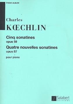 Sonatines et nouvelles sonatines Charles Koechlin laflutedepan