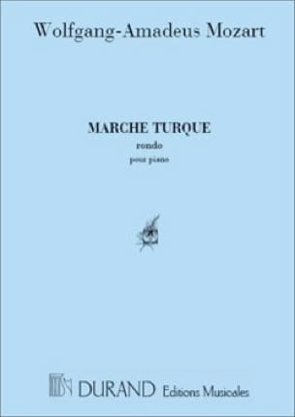 Marche Turque - MOZART - Partition - Piano - laflutedepan.com