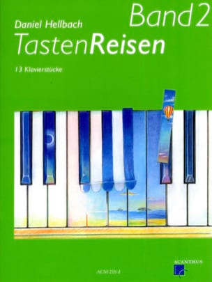 Randonnées sur le Clavier Volume 2 Daniel Hellbach laflutedepan
