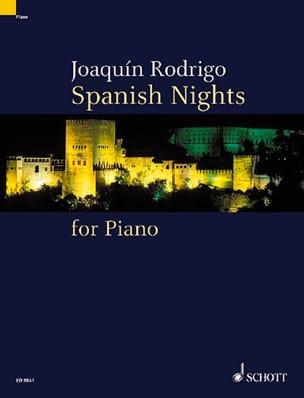 Joaquin Rodrigo - Spanish Nights - Partition - di-arezzo.fr