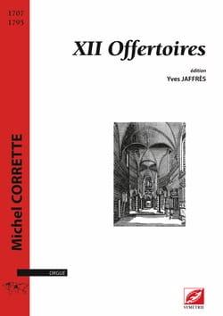12 Offertoires CORRETTE Partition Orgue - laflutedepan