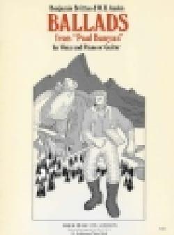 Ballades. Paul Bunyan BRITTEN Partition Opéras - laflutedepan