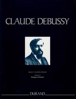 Rodrigue et Chimène. Série 6 Volume 1 DEBUSSY Partition laflutedepan