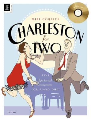 Charleston For 2. 4 Mains - Mike Cornick - laflutedepan.com