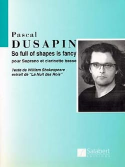 So Full Of Shapes Is Fancy Pascal Dusapin Partition laflutedepan