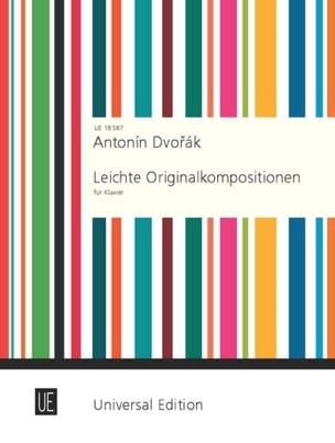 Leichte Originalkompositionen DVORAK Partition Piano - laflutedepan