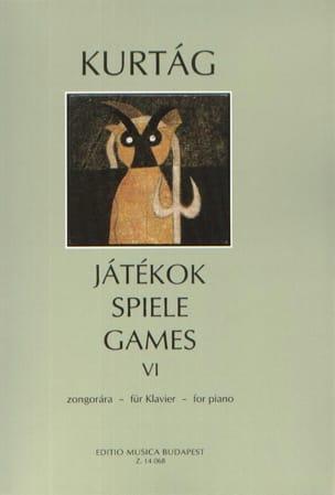György Kurtag - Jatekok Volume 6 - Partition - di-arezzo.com