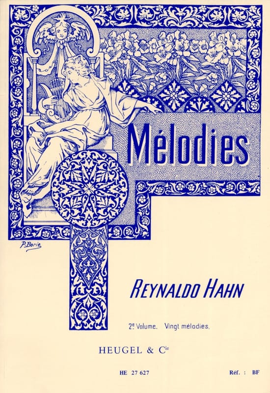 Mélodies Volume 2 - Reynaldo Hahn - Partition - laflutedepan.com