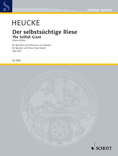 Der Selbstsüchtige Riese Op. 20a - Stefan Heucke - laflutedepan.com