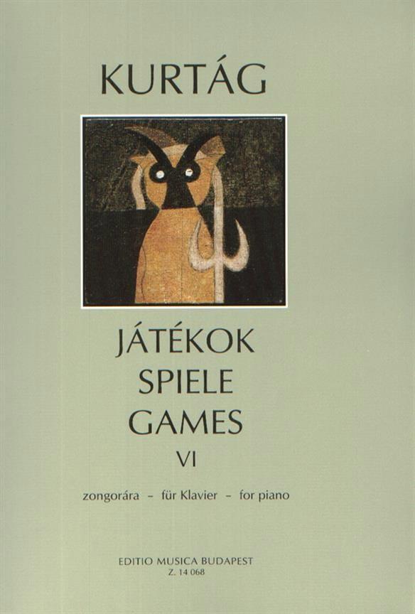 Jatekok Volume 6 - KURTAG - Partition - Piano - laflutedepan.com