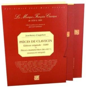 Jean-Henry d' Anglebert - Pièces de Clavecin - Partition - di-arezzo.fr